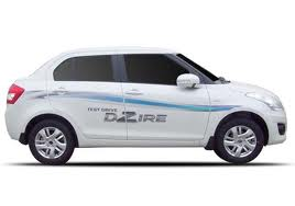 Swift Dzire taxi in kerala